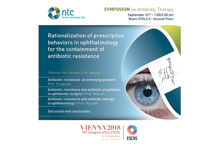 Rationalization of prescriptive behaviors in ophthalmology for the containment of antibiotic resistance